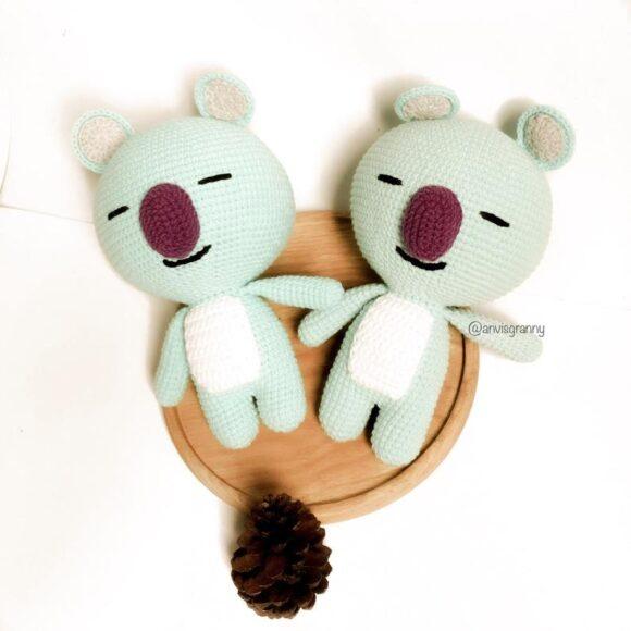 Koya BTS amigurumi crochet pattern