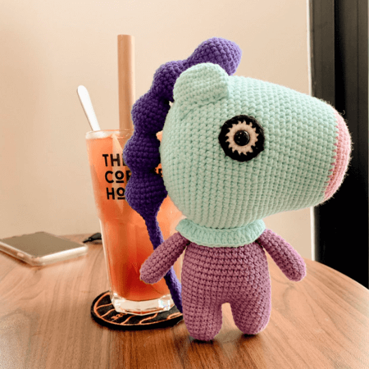 Mang BT21 crochet pattern