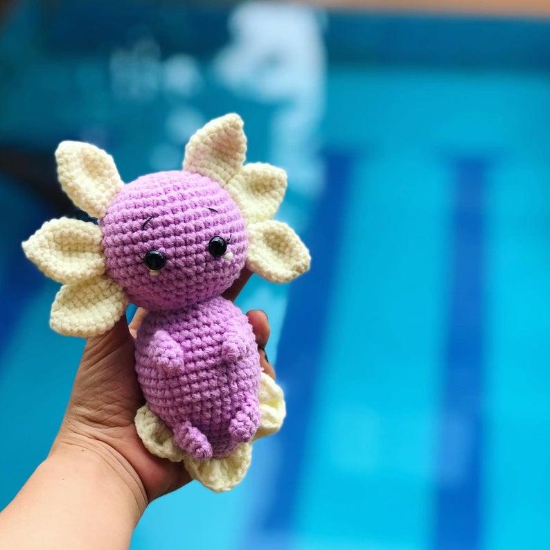 Crochet Axolotl Amigurumi Free Pattern – Kiki