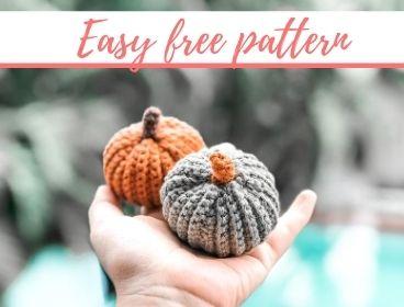Easy Pumpkin Free Crochet Pattern and Video Tutorial