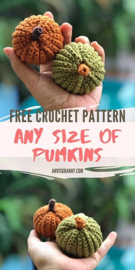 crochet pumpkin free crochet pattern