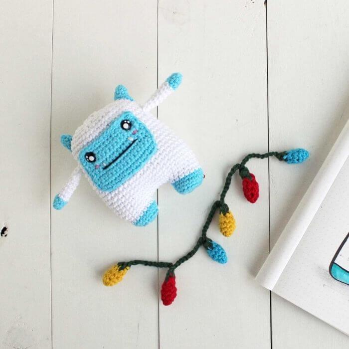 Joe The Yeti free crochet pattern