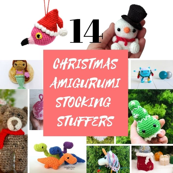 14 Amigurumi Stocking Stuffer Crochet Patterns