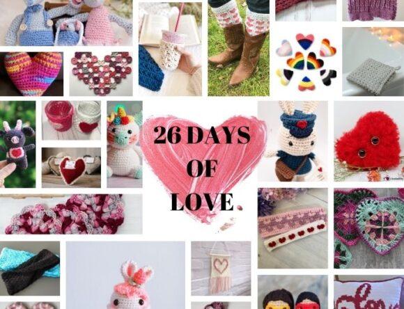 26 Free Valentine Crochet Patterns