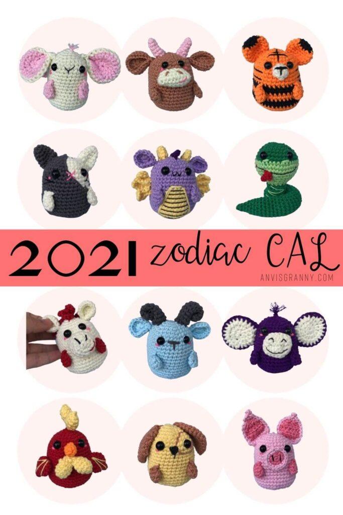 2021 Zodiac amigurumi Crochet free patterns