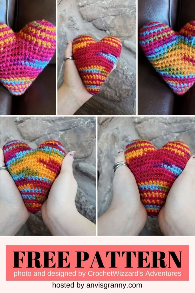 Heartwarming Heart Plush free crochet pattern