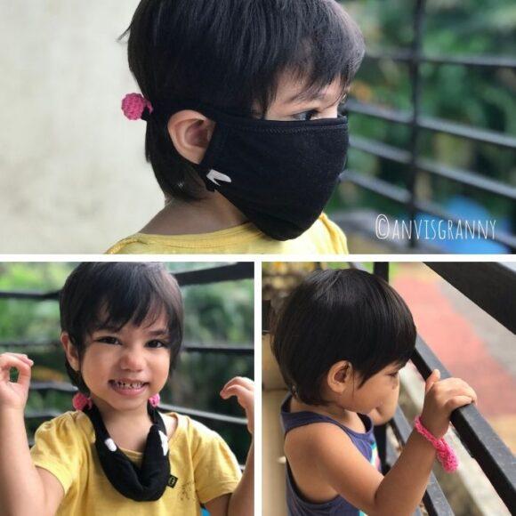 adjustable mask strap holder crochet pattern for beginners