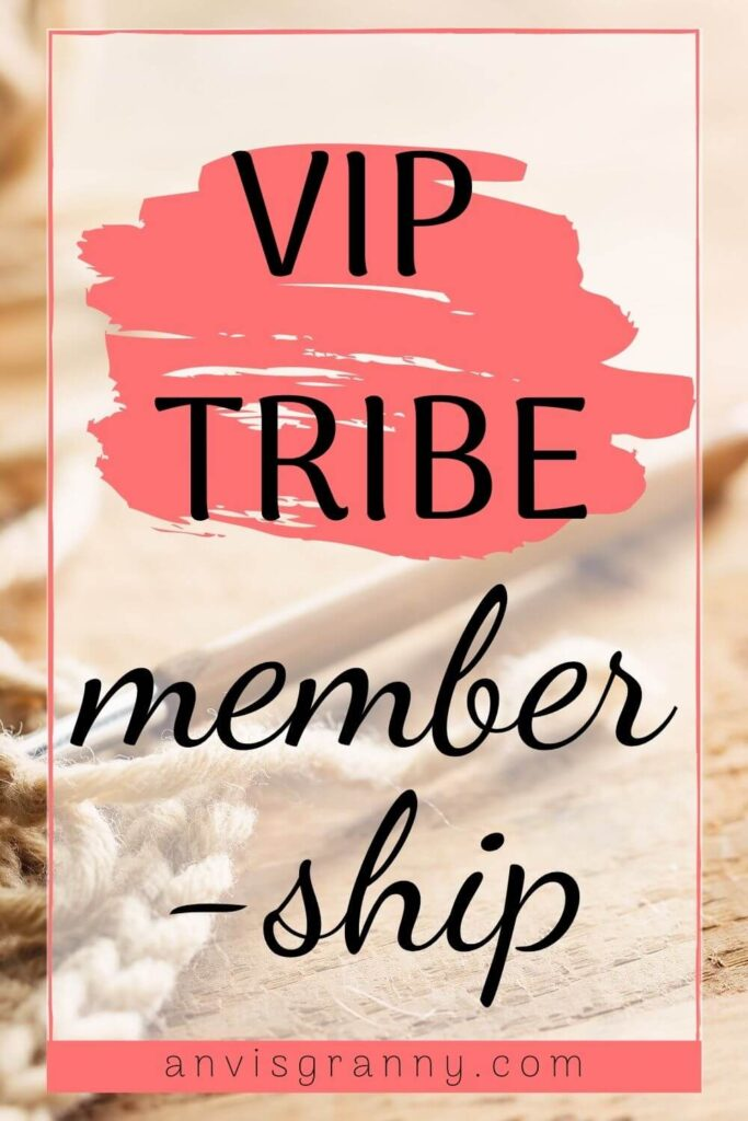 Join VIP Tribe membership for Premium Crochet amigurumi patterns and printables with Anvi's Granny Handicrafts