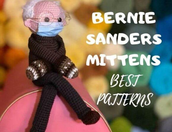 10 Bernie Sanders Mittens crochet patterns