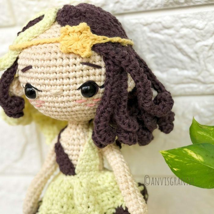 Greek Astrology Sign - Gemini the crochet doll amigurumi pattern