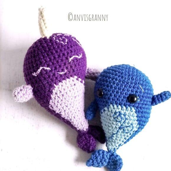 amigurumi whale crochet pattern1