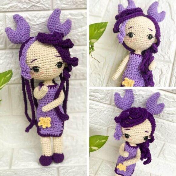 Cancer Zodiac Amigurumi Princess Doll – Crochet Pattern Review