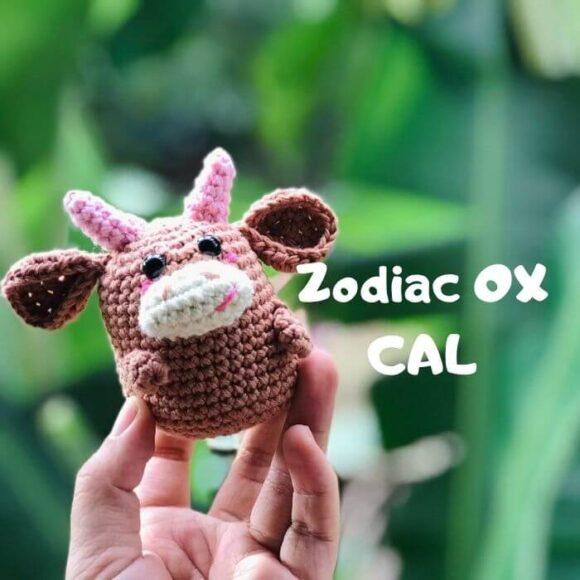 ZODIAC Ox Amigurumi Free Pattern -Zodiac CAL (Eps 02)