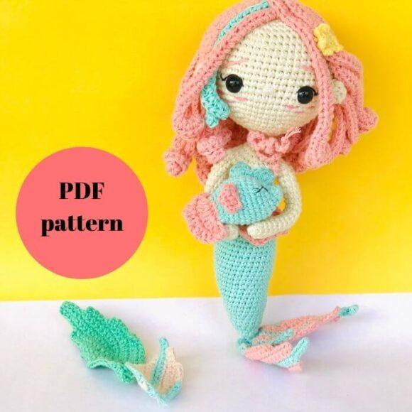 Pisces Amigurumi Doll – Zodiac Princess Crochet Pattern Review