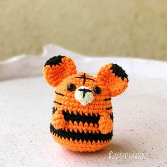 crochet tiger amigurumi pattern