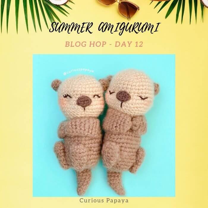 little otter amigurumi crochet pattern