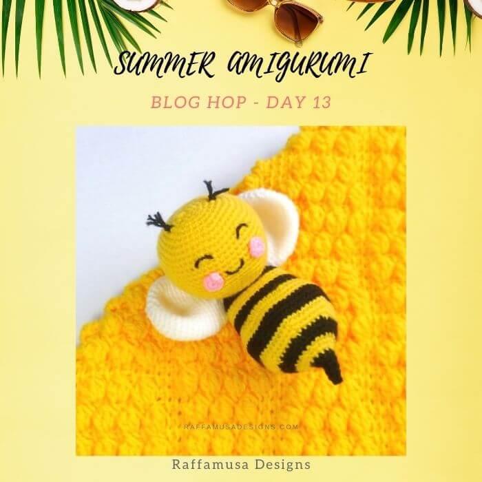 adorable honey bee amigurumi crochet pattern free
