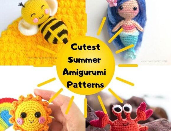 16 Free and Cute Summer Amigurumi Crochet Patterns
