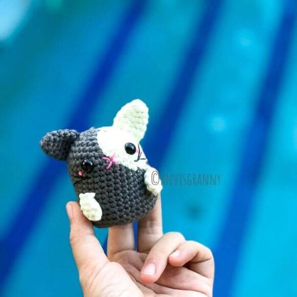zodiac rabbit cat amigurumi pattern