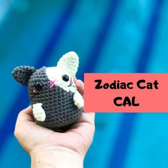Zodiac Rabbit/Cat Amigurumi Free Pattern -Zodiac CAL (Eps 04)