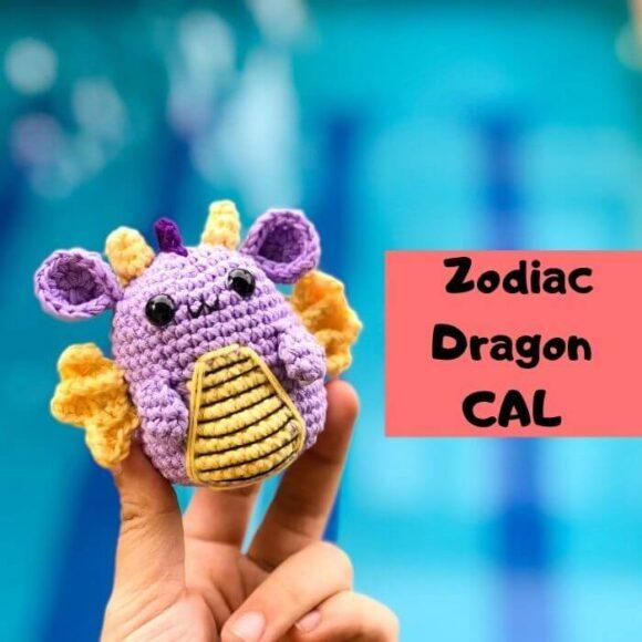 Zodiac Dragon Free Pattern -Zodiac CAL (Eps 05)