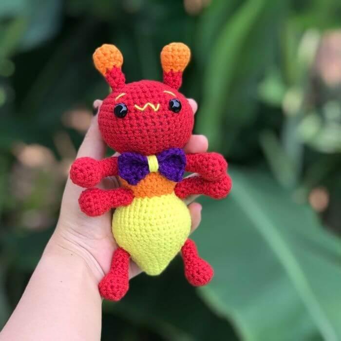 amigurumi ant crochet pattern for beginners