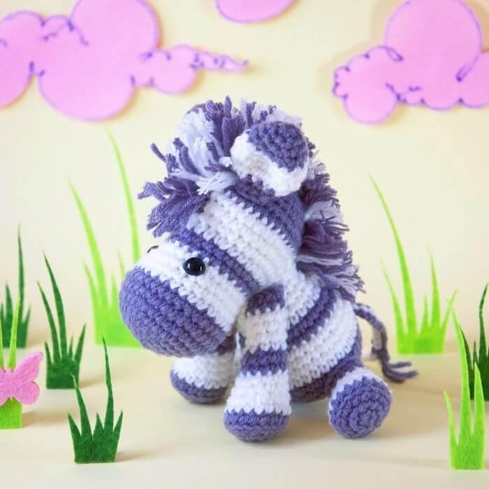 zebra amigurumi animal crochet pattern