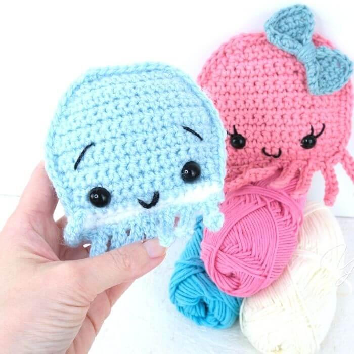 octopus ragdoll amigurumi crochet pattern