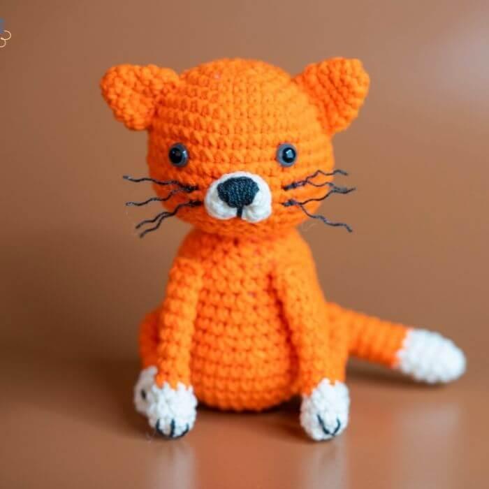 amigurumi cat crochet toy pattern