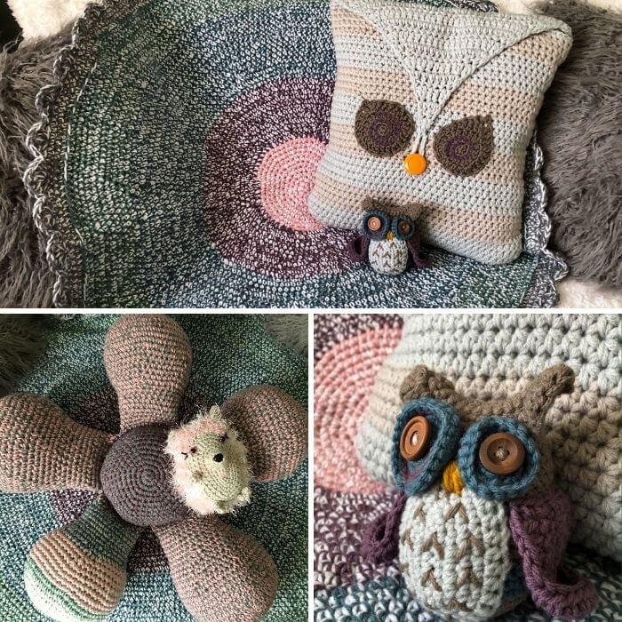 6in1 Groovy Baby Hazel play set amigurumi crochet pattern