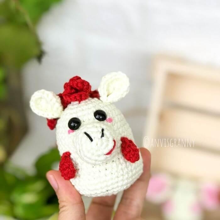 how to crochet a horse for beginners - Zodiac amigurumi crochet pattern