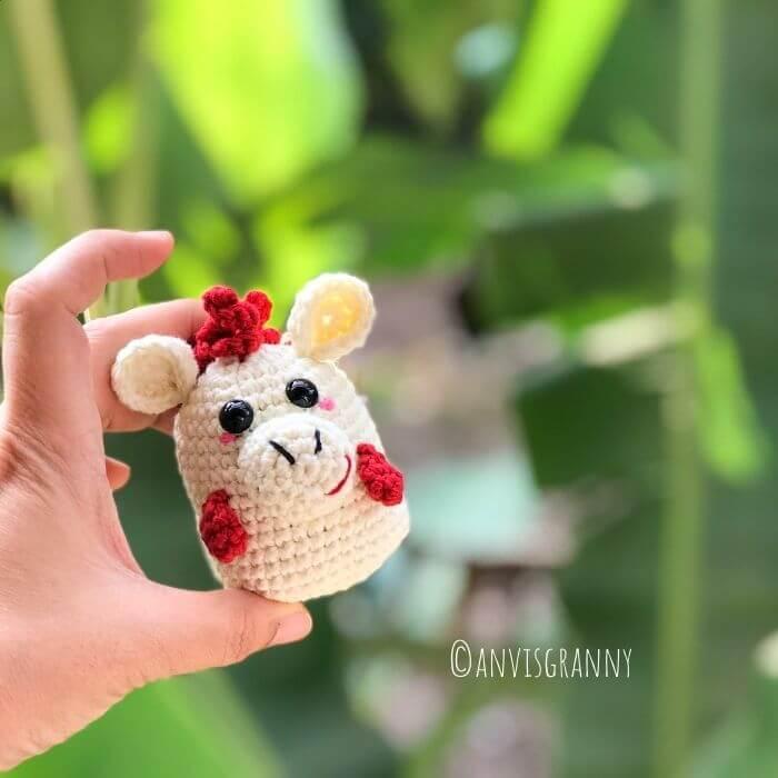 zodiac horse crochet pattern