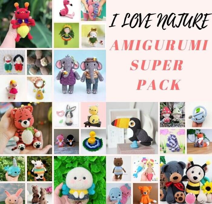 30+ Best Nature-Themed Amigurumi Patterns to crochet