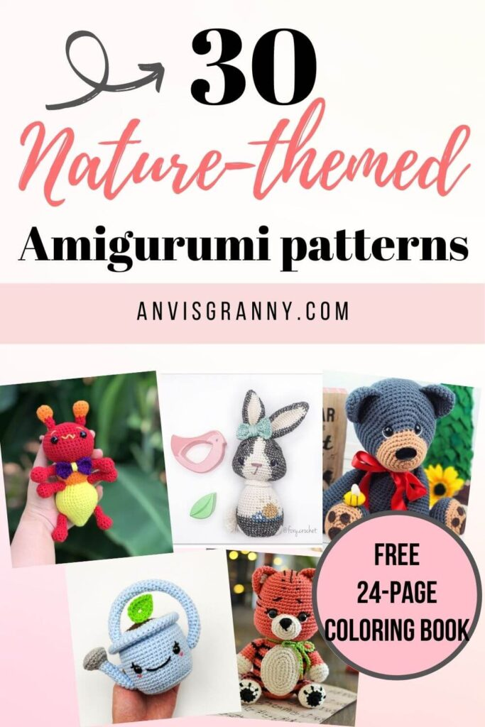 30 most beautiful nature-themed amigurumi patterns to crochet
