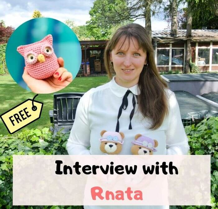 Amigurumi Owl Free Pattern and a lovely interview with RNata
