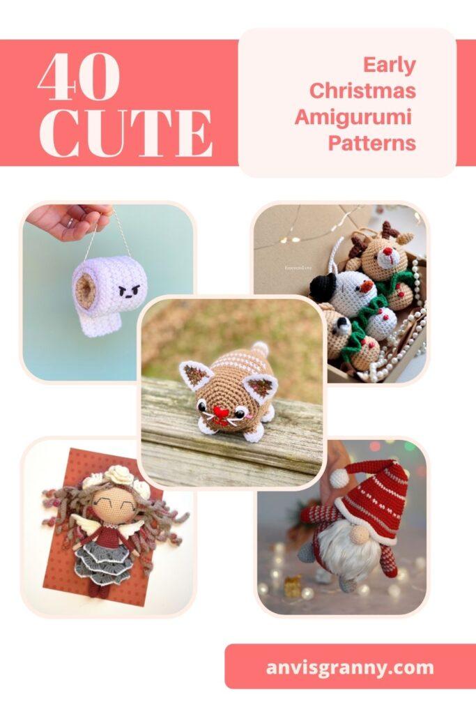 Christmas in July amigurumi crochet patterns