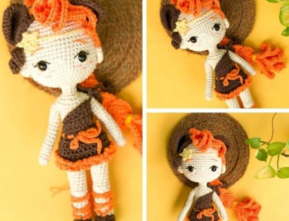 Leo Amigurumi Doll – Zodiac Princess Crochet Pattern Review