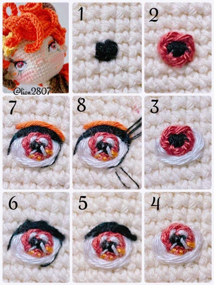 Leo Zodiac amigurumi crochet