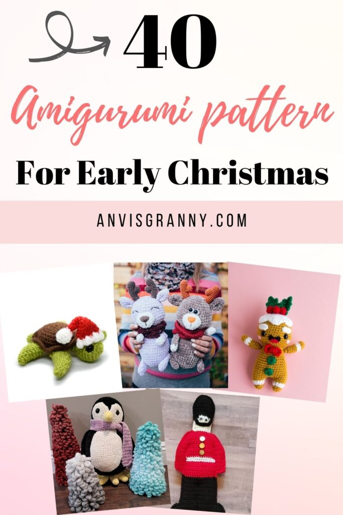 Christmas in July amigurumi