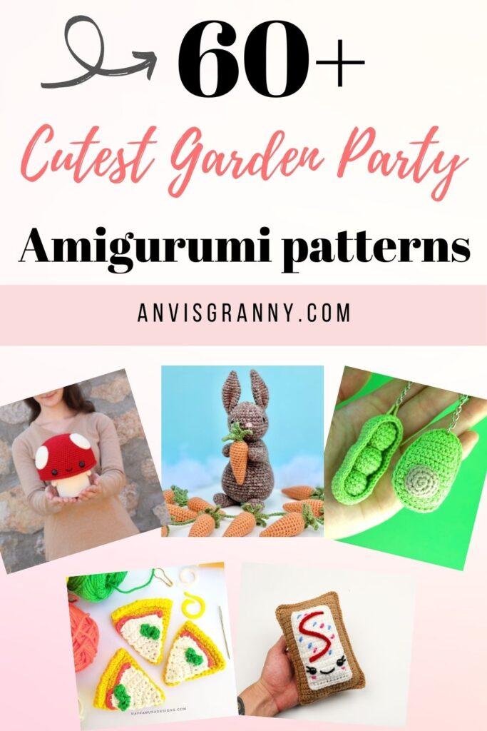 garden party amigurumi crochet pattern