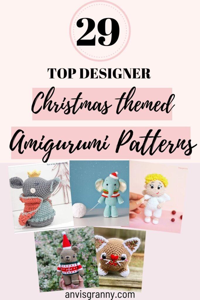 early Christmas amigurumi crochet