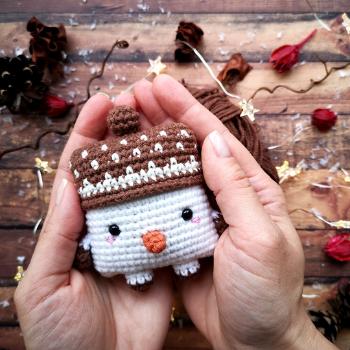 Pocket Friend. Snowman.