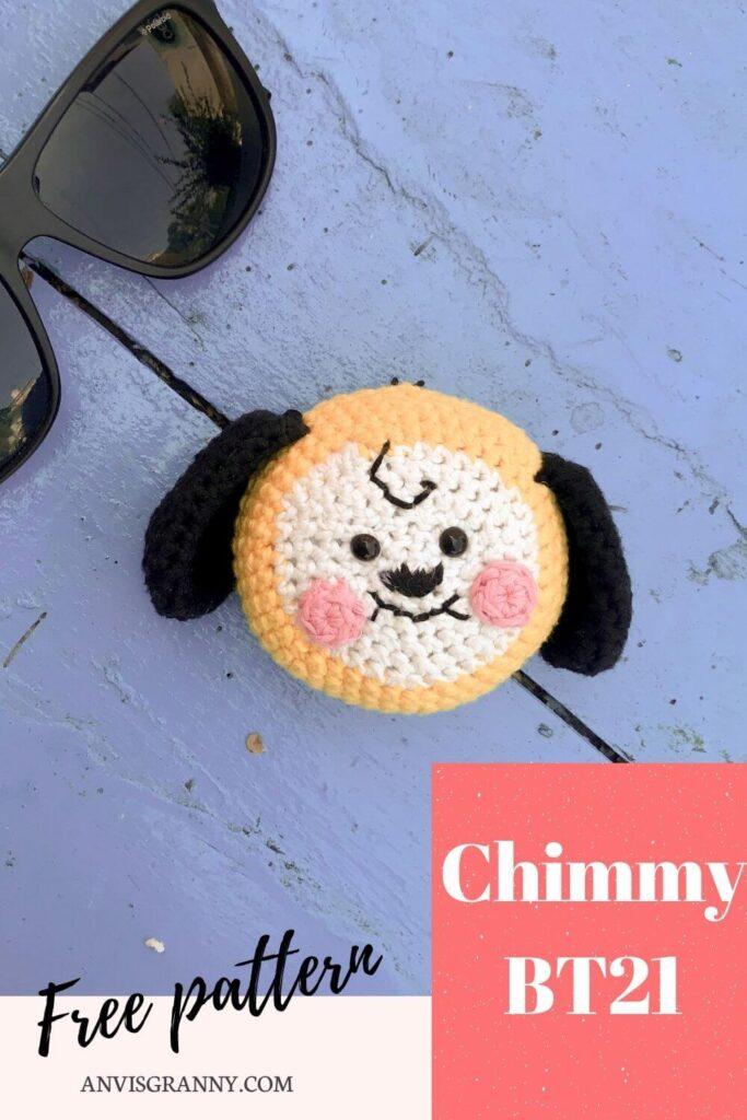 Chimmy BTS free crochet pattern
