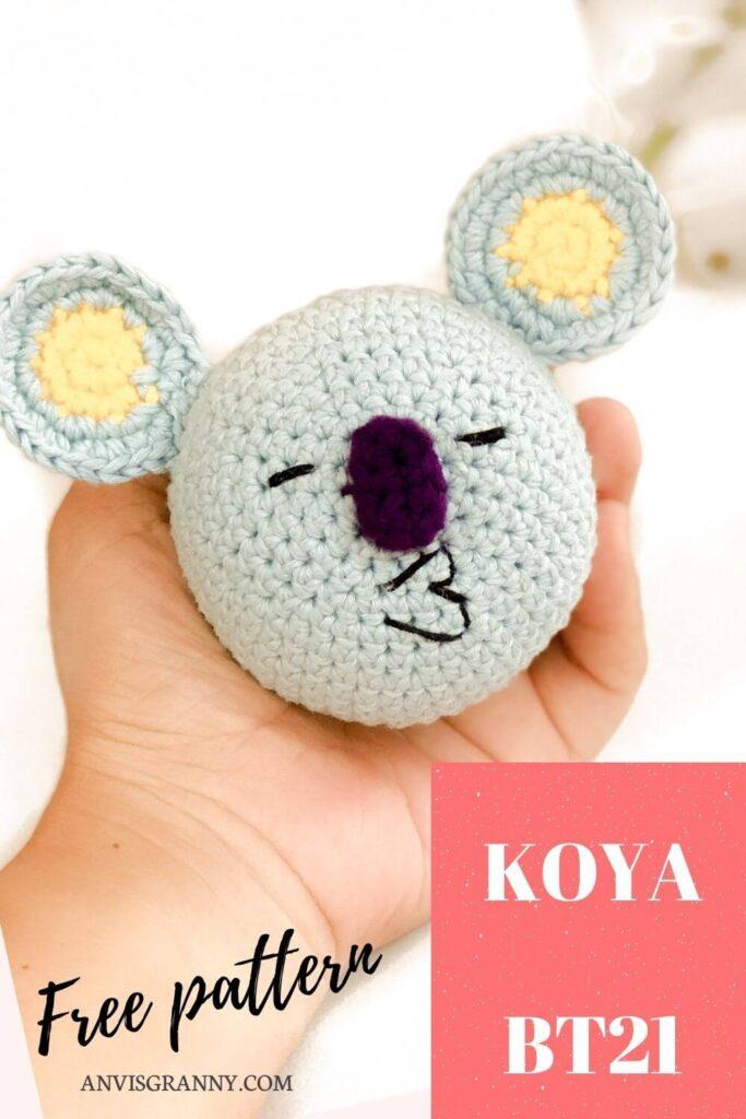 Koya BTS free crochet pattern