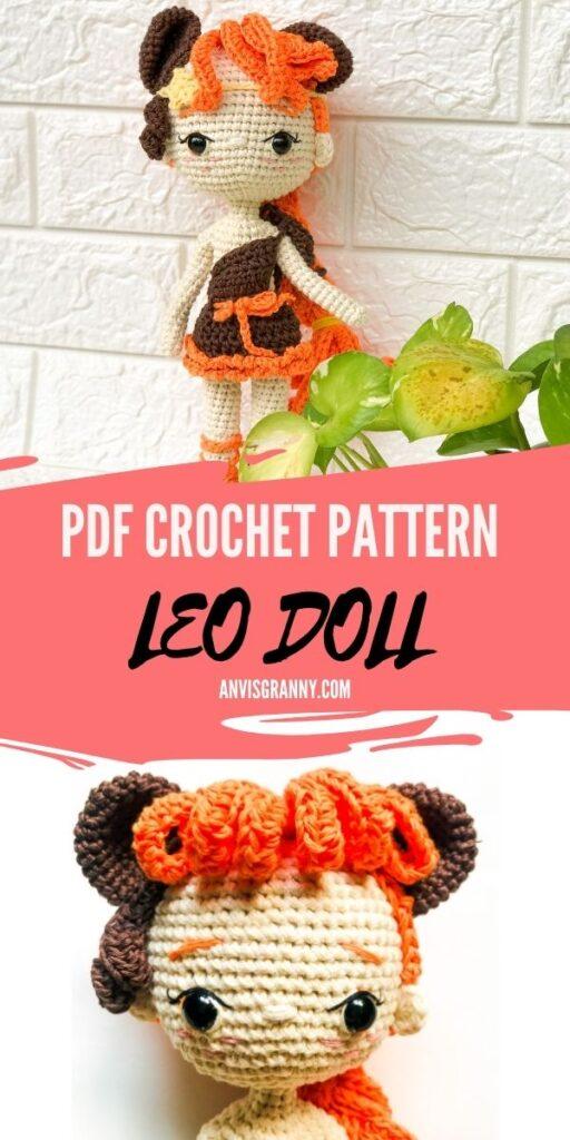 pdf zodiac crochet pattern, amigurumi pattern