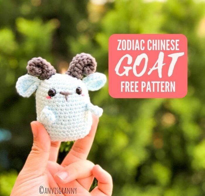 Easy Zodiac Goat Amigurumi Pattern free -Zodiac CAL (Eps 08)