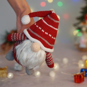 Scandinavian Gnome crochet