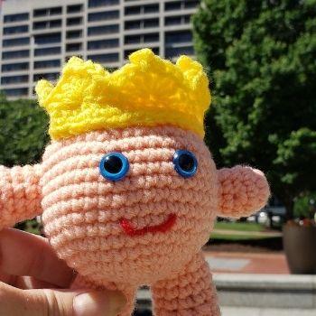 garden party amigurumi crochet