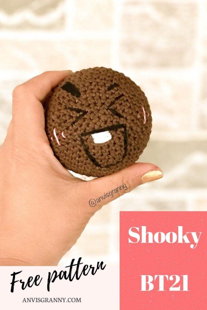 Shooky BTS free crochet pattern