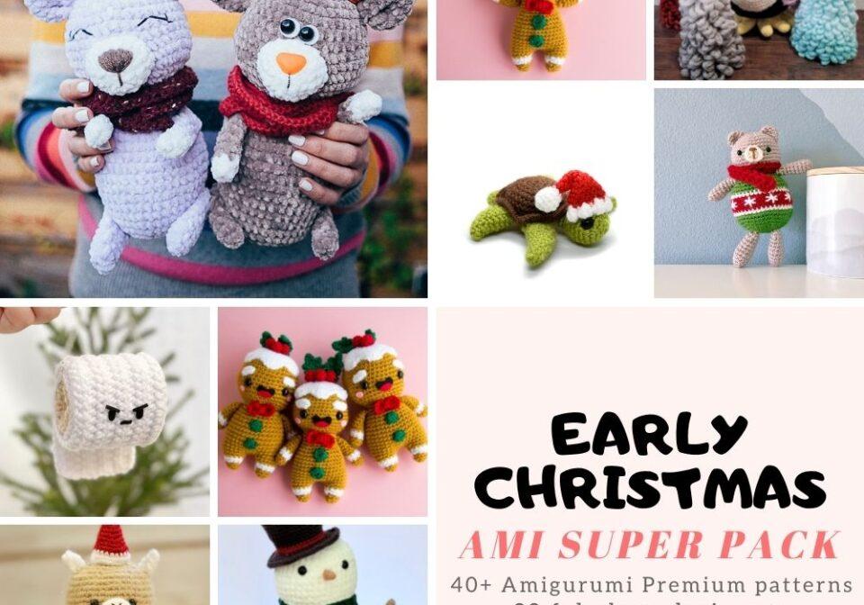 40+ Early Christmas Amigurumi Patterns to Crochet